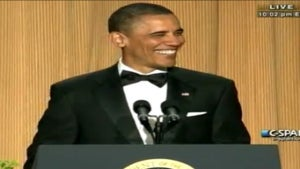 President Obama Roasts Trump at White House Dinner