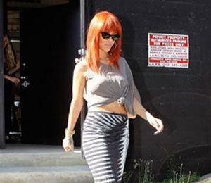 Star Gazing: Rihanna Shops for Lingerie in Hollywood