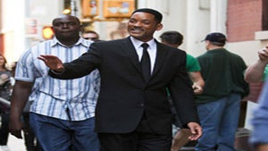 Star Gazing: Will Smith Films 'Men in Black 3' in NYC