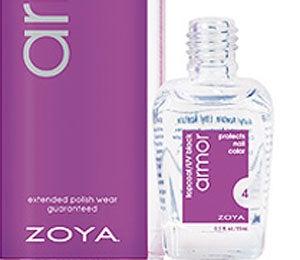 Miracle Worker: Zoya Armor Topcoat/UV Block