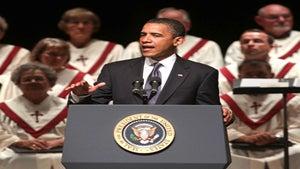 Obama Watch: President Speaks at Missouri Memorial