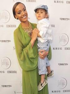 Star Gazing: Selita Ebanks is Glam in Green