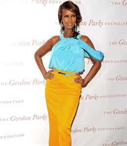 Star Gazing: Iman Is Bright and Bold in Prabal Gurung