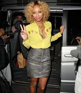 Star Gazing: Keri Hilson Gets Colorful in London