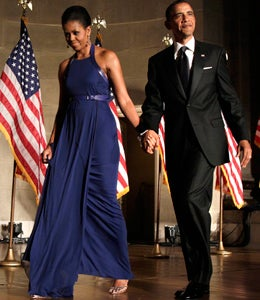 First Lady Diary: Michelle Obama is Vibrant in Blue
