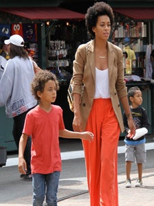 Star Gazing: Solange and Julez Go to the Movies