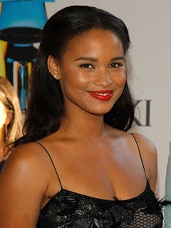 Look of the Day: Joy Bryant's Red Lip