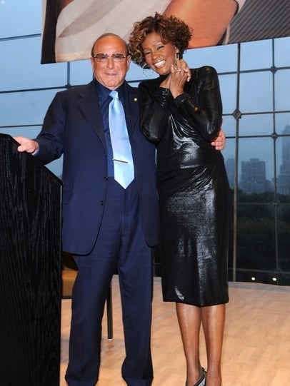 Clive Davis Halts Working with Whitney