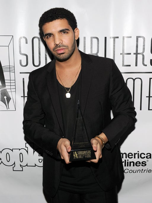 Drake Snags Songwriters Hall of Fame Starlight Award