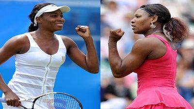 Serena Wonders Why She and Venus Get Court 2