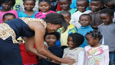First Lady Michelle Obama Visits South Africa