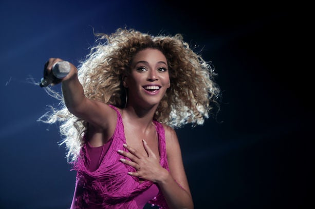 Beyonce Performs in Lille, France