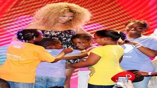 Beyonce Surprises Harlem Boys & Girls Club