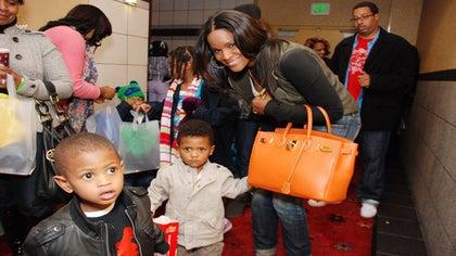 What Do Tameka Raymond's Kids Wear?