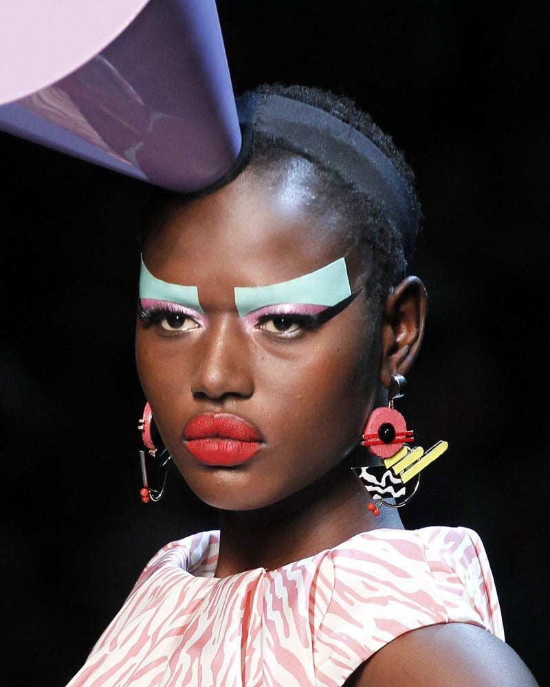 Dior Couture Makeup Goes 3-D