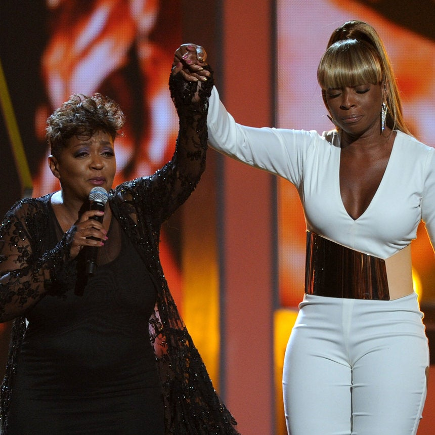 Mary J. Blige on Singing with Anita Baker at BET Awards