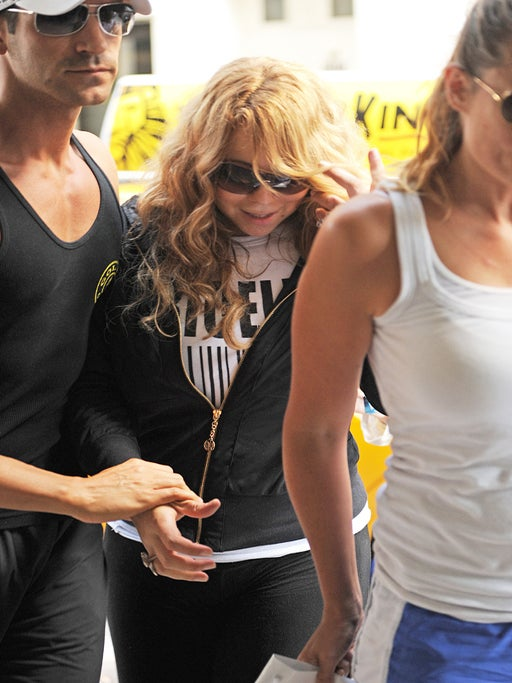 Mariah Carey Makes First Appearance Post-Pregnancy