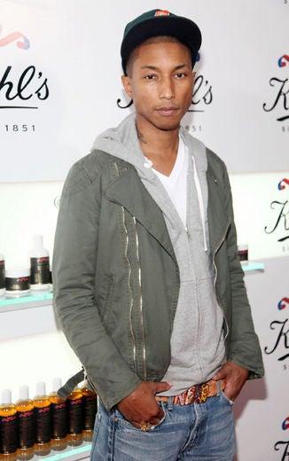 Pharrell Williams in New Palladium Campaign