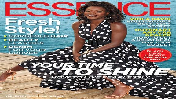 Viola Davis Graces the August Issue of ESSENCE