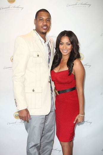 LaLa and Carmelo Inspired by Will and Jada's Love