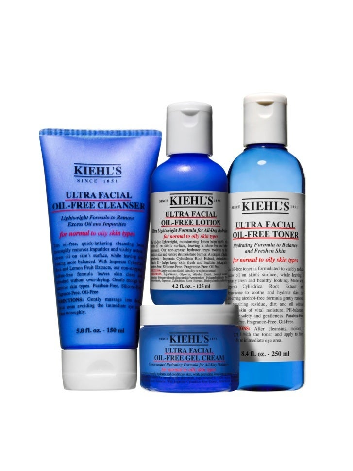 Miracle Worker: Kiehl's New Oil-Free Collection