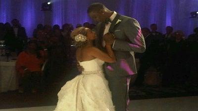 Chris Bosh Is a Married Man