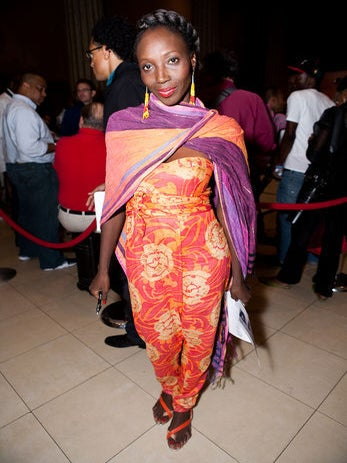 Street Style: Africa Fashion Week