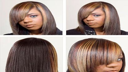 Salon Styles: Two-Toned Tresses