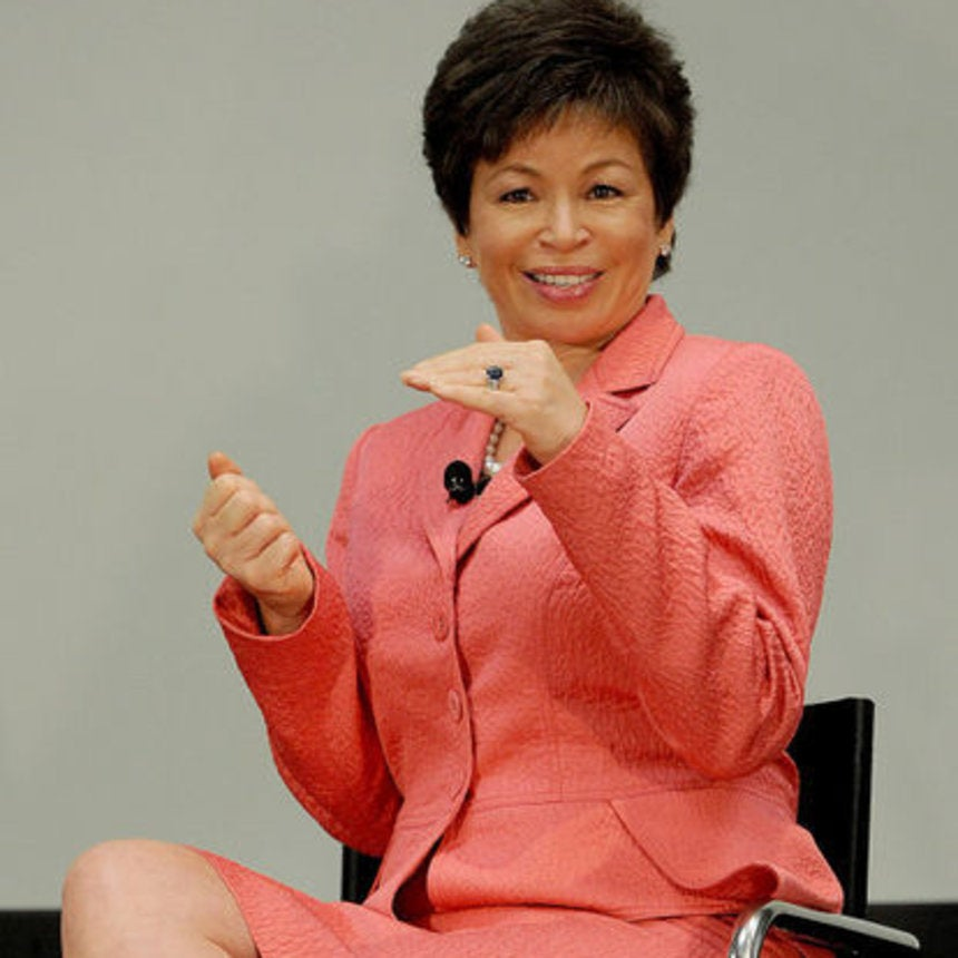 Valerie Jarrett Challenges Employers To Make A Commitment To Closing The Pay Gap During Women's History Month