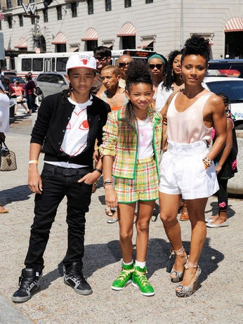 Celeb Moms: Jada Pinkett Smith and Her Children