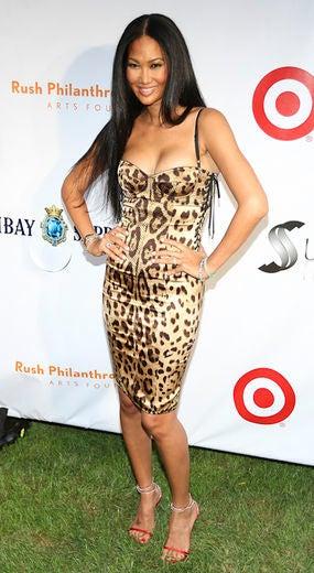 Russell Simmons and Kimora Lee Host 'Art for Life' Fundraiser
