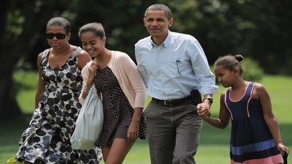 President Obama Makes Plans for Malia's First Car