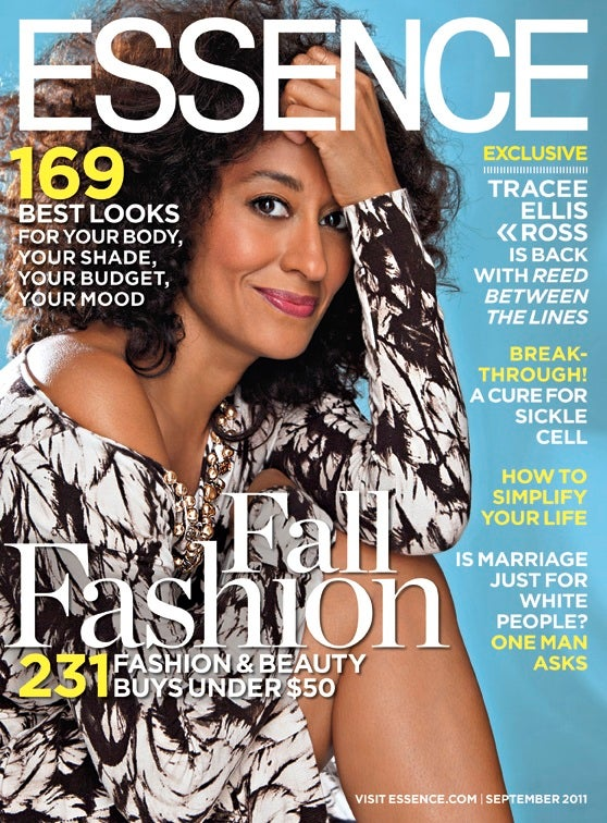 Tracee Ellis Ross Graces the September Issue of ESSENCE