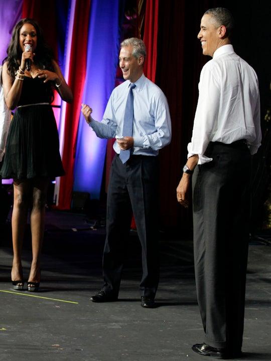 Jennifer Hudson Sings 'Happy Birthday' to President Obama