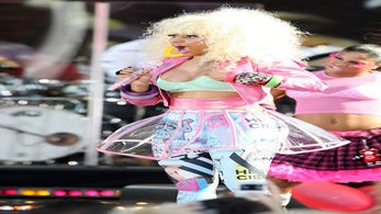 Nicki Minaj Has a Wardrobe Malfunction on 'Good Morning America'