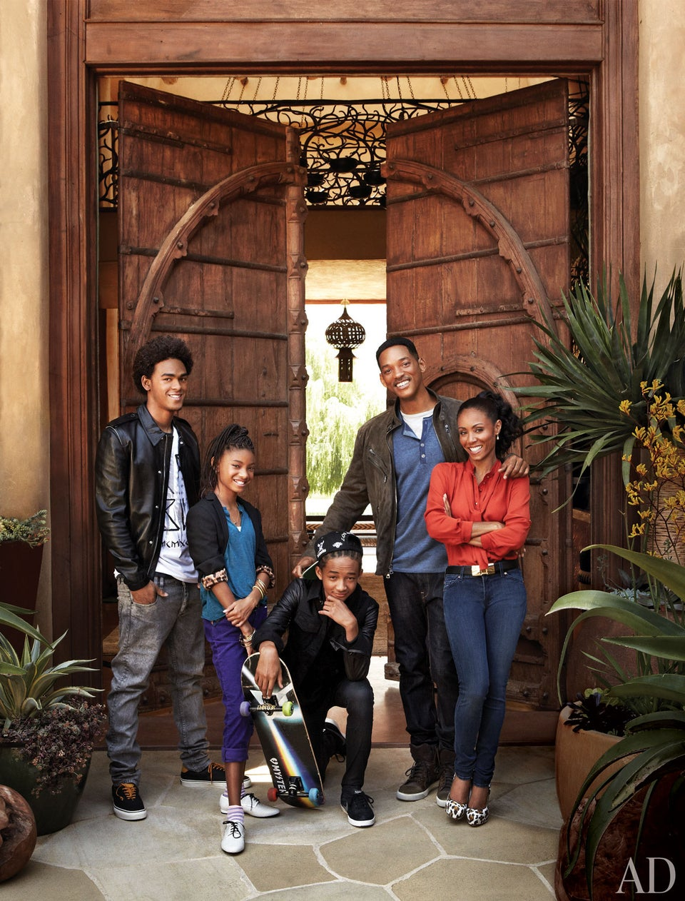 Jada and Will Show off Their Lavish Home in 'Architectural Digest'
