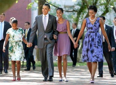 The Obamas Head to Martha's Vineyard For R&R