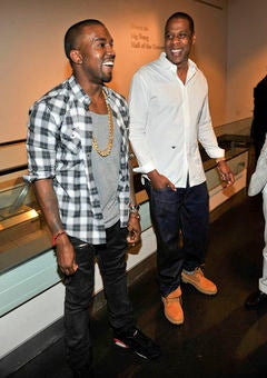 Jay-Z and Kanye West Debut 'Otis' Music Video