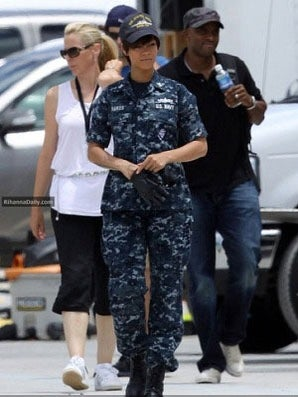 Rihanna Dishes on Her Role in 'Battleship'