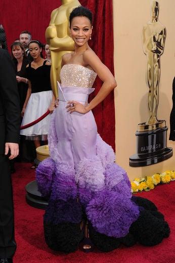 Zoe Saldana Hit Rock Bottom after 'Avatar'