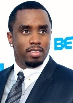 Diddy Makes UCLA Campus Visit with Son