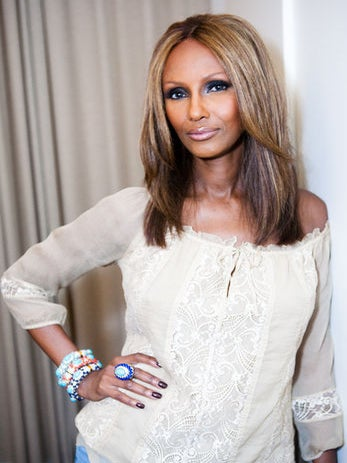 Exclusive: Iman Launches The Platinum Collection