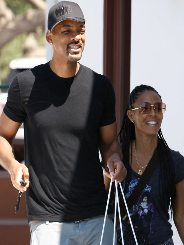 Will and Jada Spotted in L.A., Shoot Down Separation Rumors