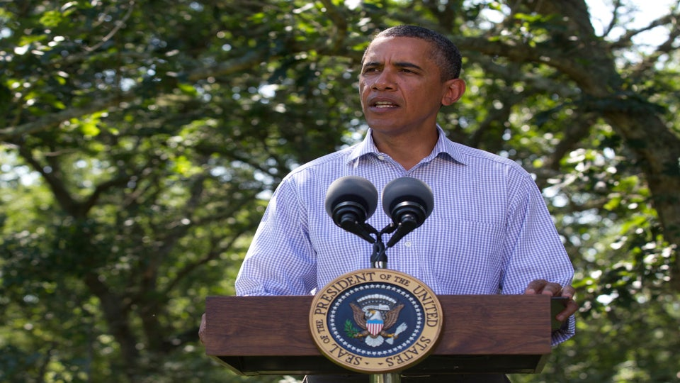 President Obama Addresses Nation on Irene Recovery