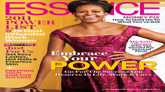 Michelle Obama Graces the October Cover of ESSENCE