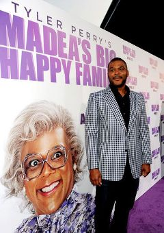 Tyler Perry on 'Madea's Big Happy Family,' on DVD Now