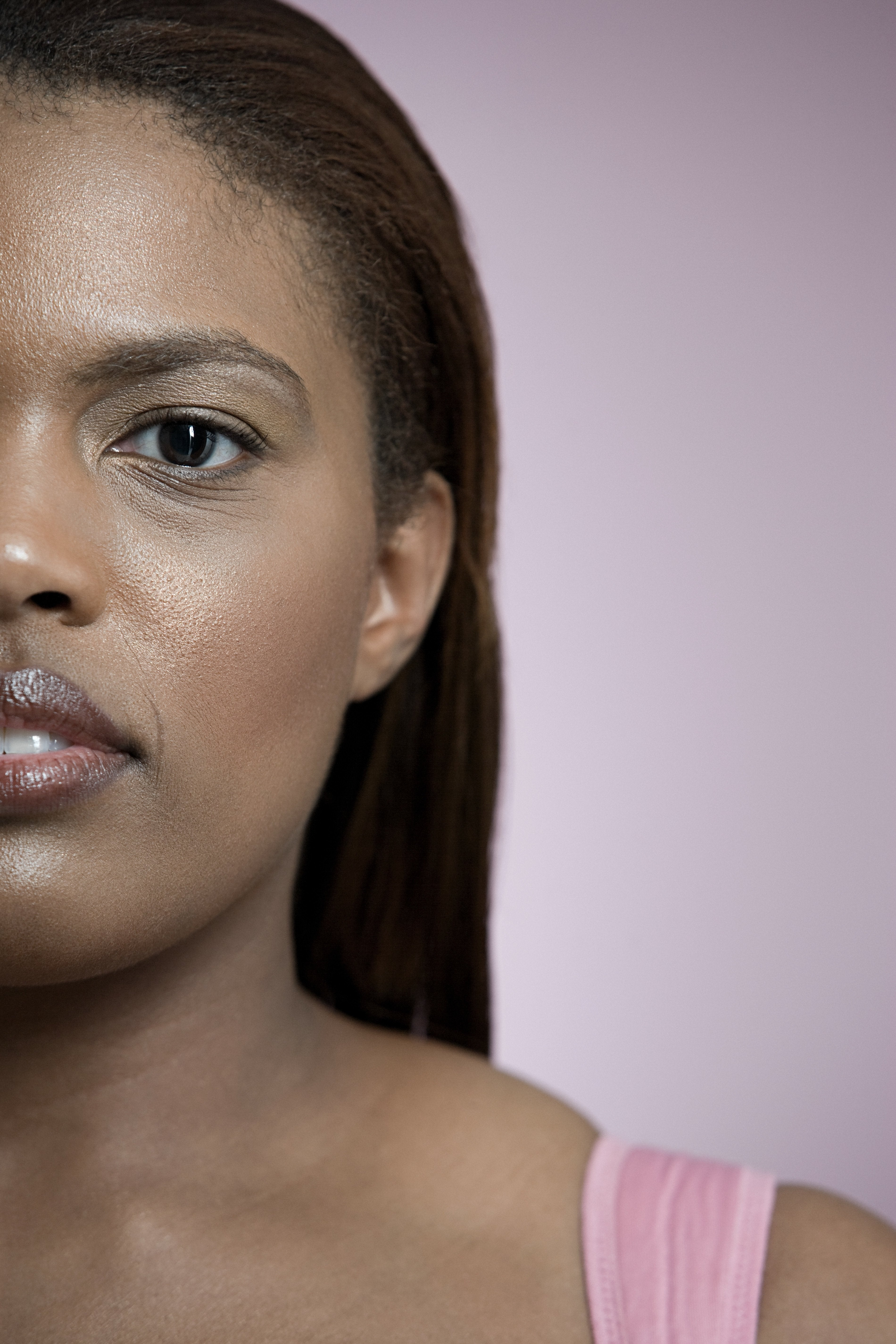 Plus-Size Model in the City: Foundation