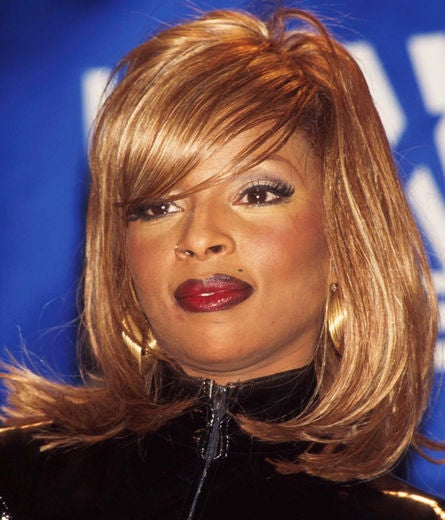 Mary J Blige S Tress Transformation Essence
