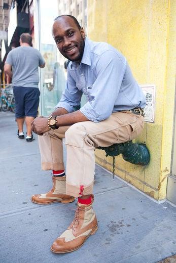 Street Style: Men at Work