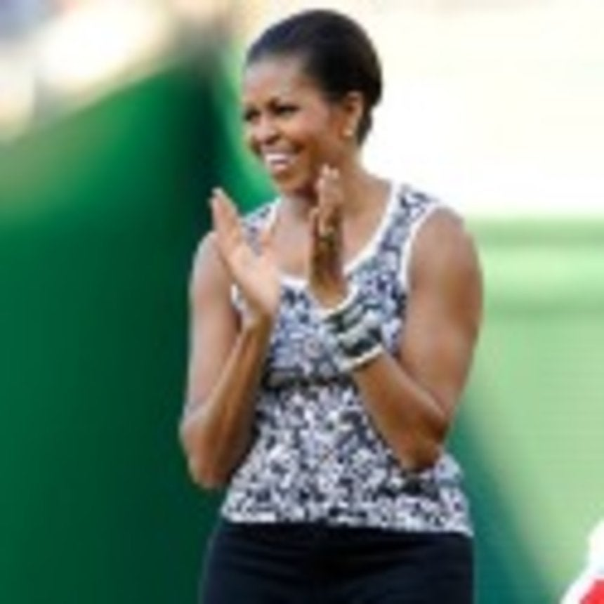 Michelle Obama Jumps Double Dutch for Healthy Living PSA